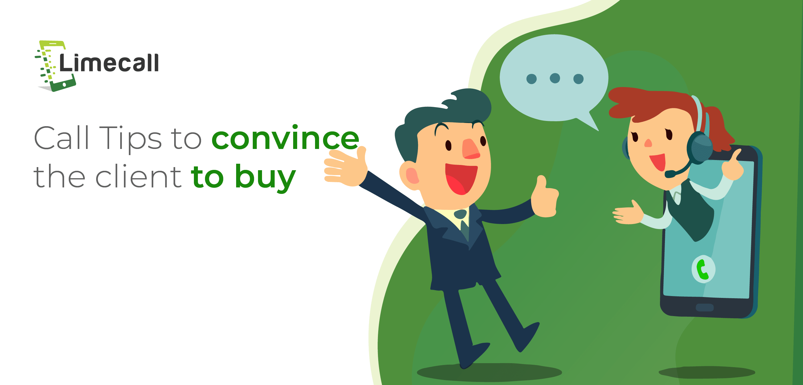 Call Tips to convince the client to buy
