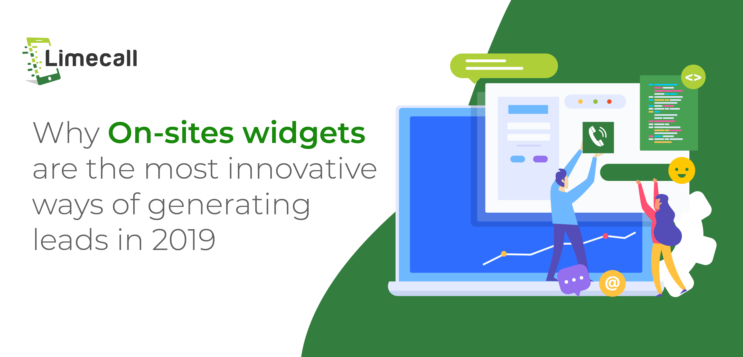 Why On-sites widgets are the most innovative ways of generating leads in 2019