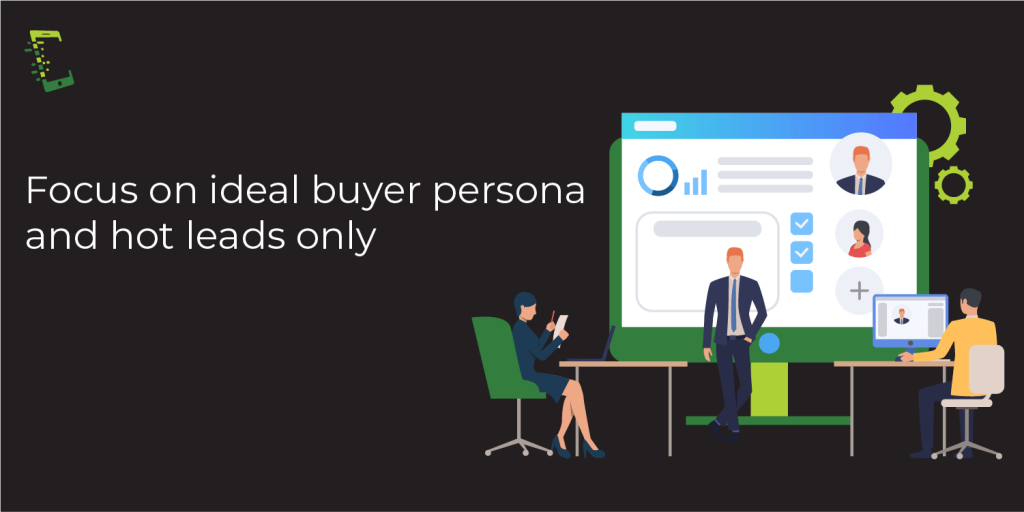 sales cycle stages_focus on buyer persona