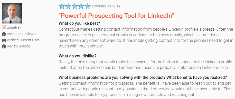 lead generation tools_ratings for contactout
