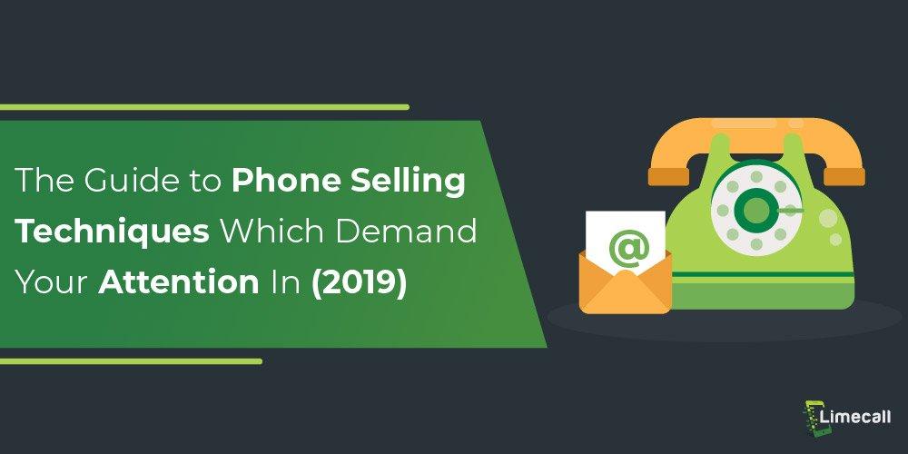 phone selling techniques_techniques
