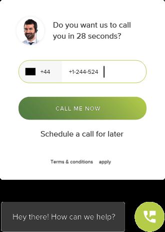lead response time_limecall widget