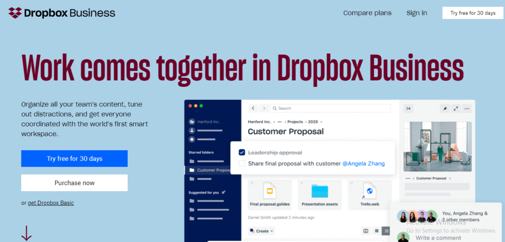 Free Software List covid_dropbox